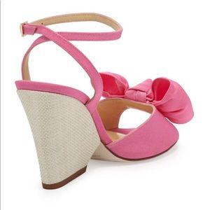 0fbc62617c8 kate spade Shoes - Kate Spade Bow sandal iberis zinnia pink size 10